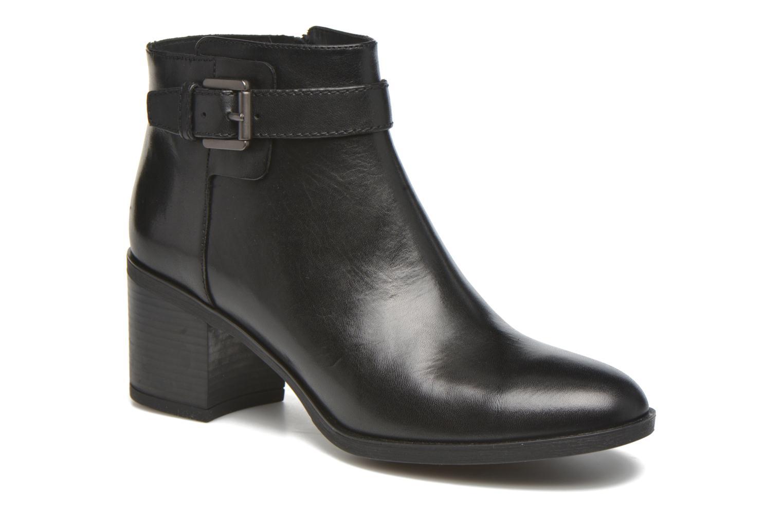 Bottines et boots Geox D GLYNNA B D643CB Noir vue détail/paire