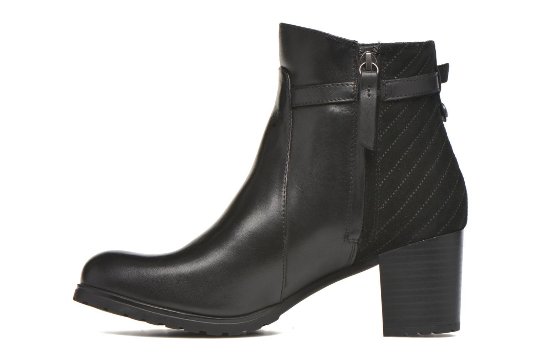 Stiefeletten & Boots Geox D LISE ABX A D64D1A schwarz ansicht von vorne