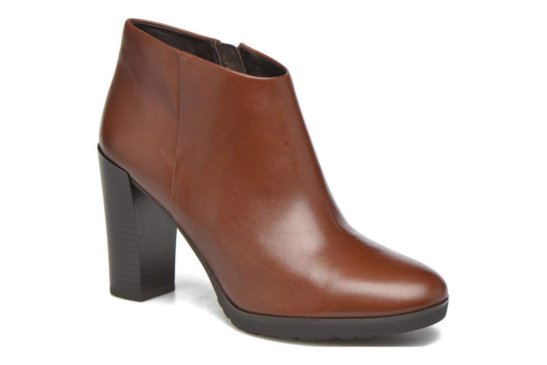 Grandes descuentos últimos zapatos Geox D RAPHAL B D643AB (Marrón) - Botines  Descuento
