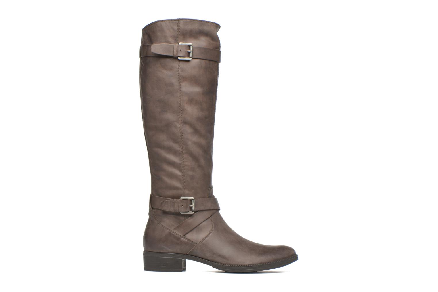 Boots & wellies Geox D MENDI ST D D6490D Brown back view