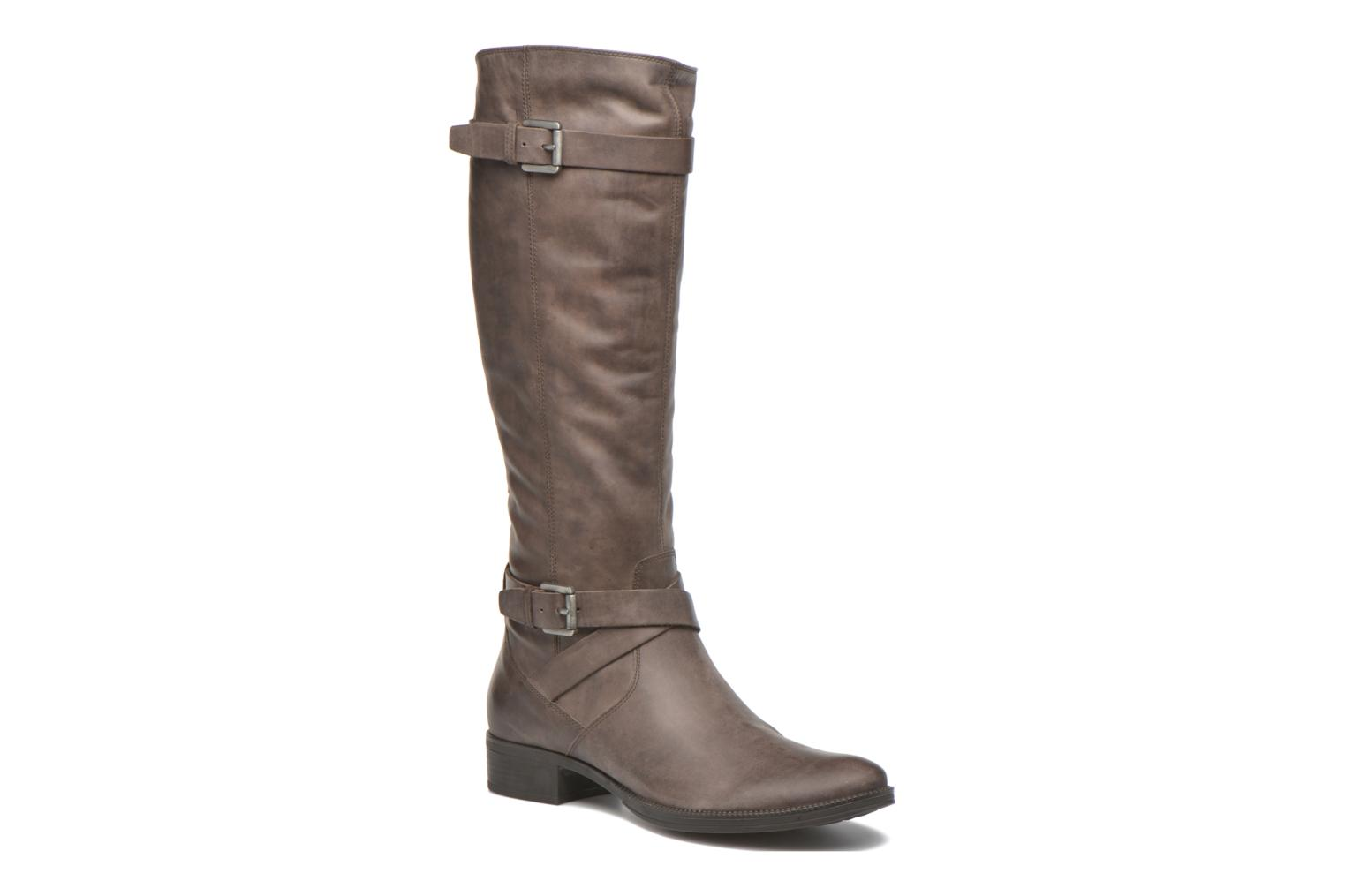 Boots & wellies Geox D MENDI ST D D6490D Brown detailed view/ Pair view