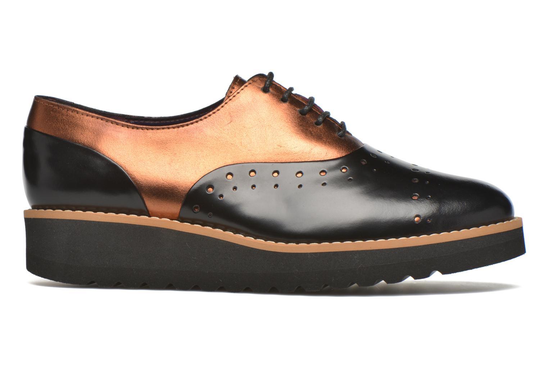 Chaussures à lacets Anaki Marguerite Noir vue derrière