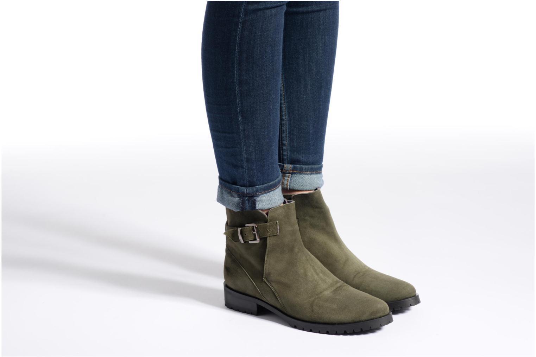 Bottines et boots Anaki Clarice Noir vue bas / vue portée sac