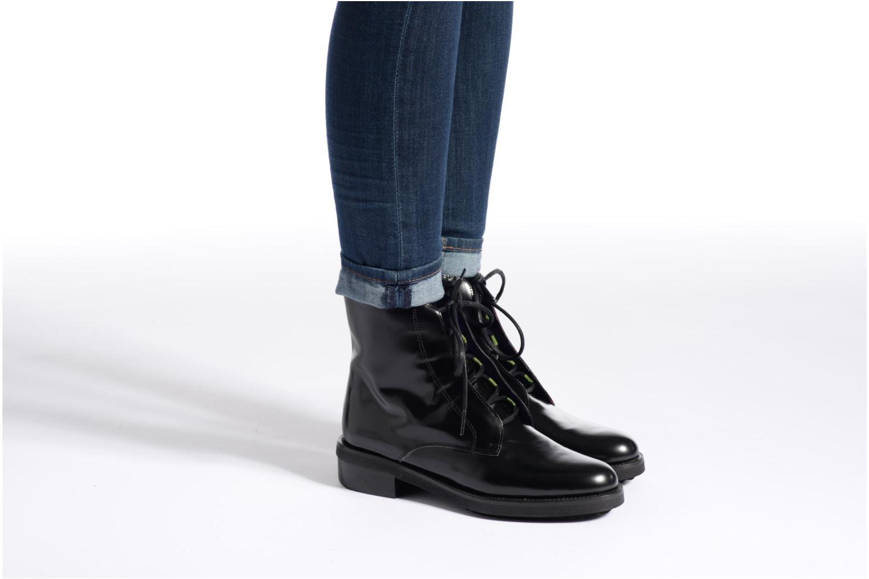Stiefeletten & Boots Anaki Jo blau ansicht von unten / tasche getragen