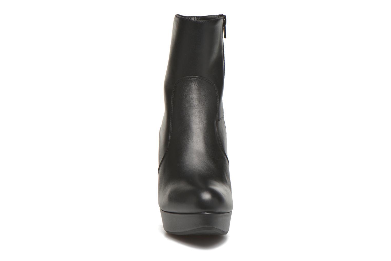 Bottines et boots Unisa Richar Noir vue portées chaussures