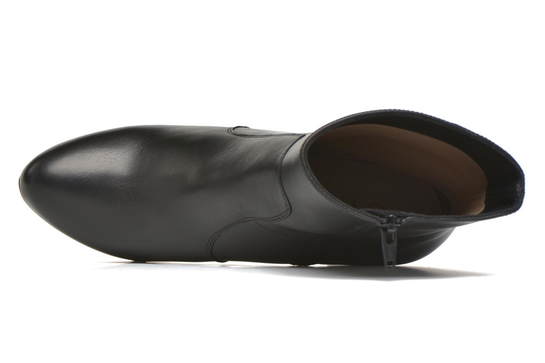 Bottines et boots Unisa Richar Noir vue gauche