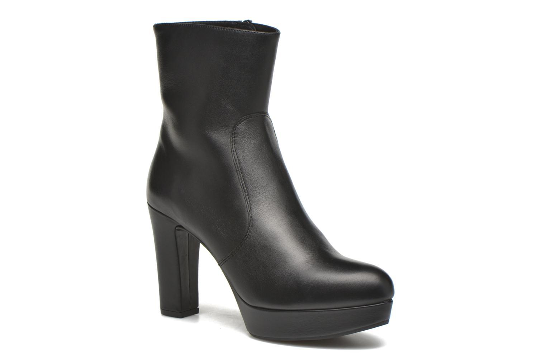 Bottines et boots Unisa Richar Noir vue détail/paire