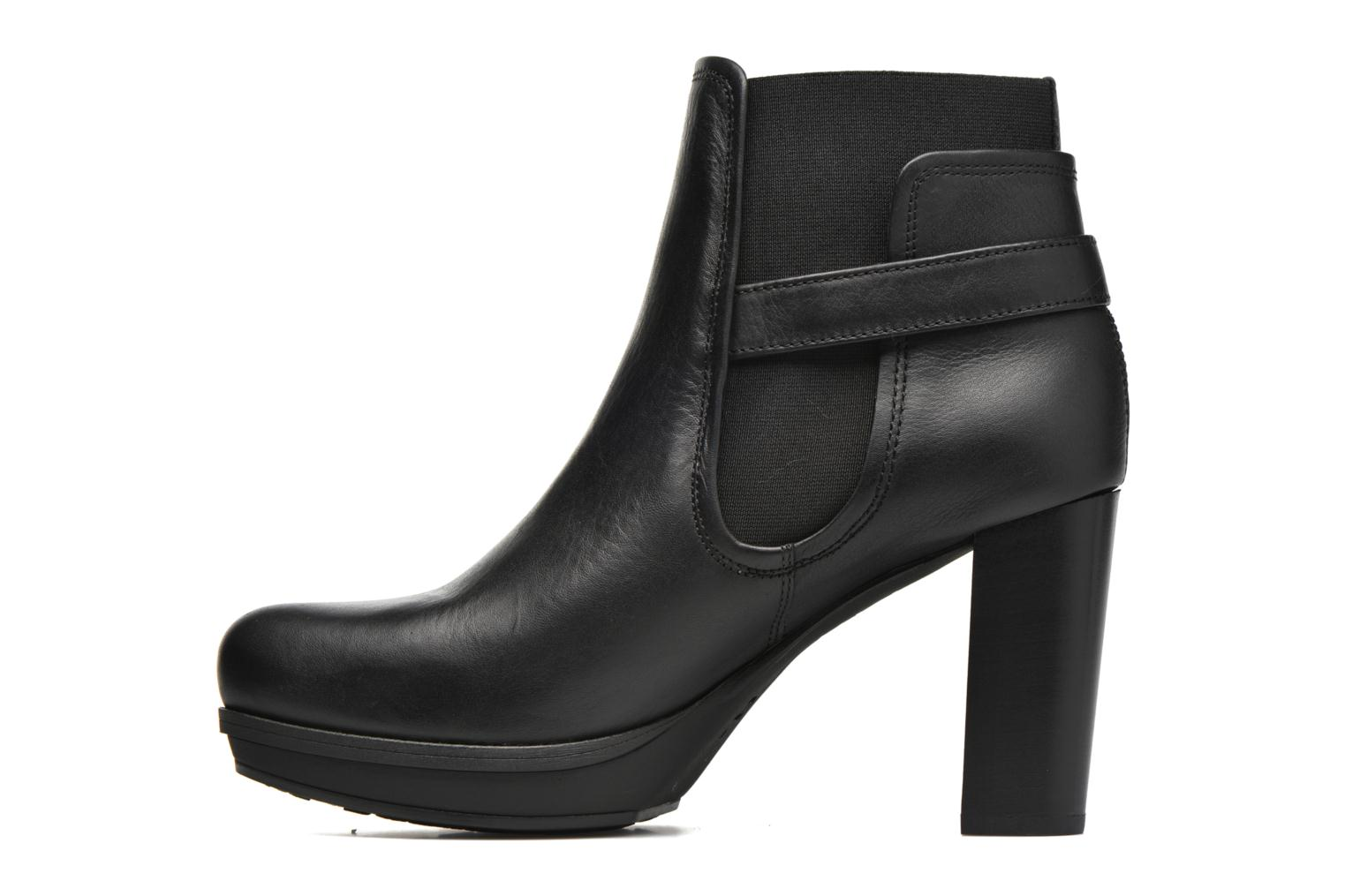 Ankle boots Unisa Machu Black front view