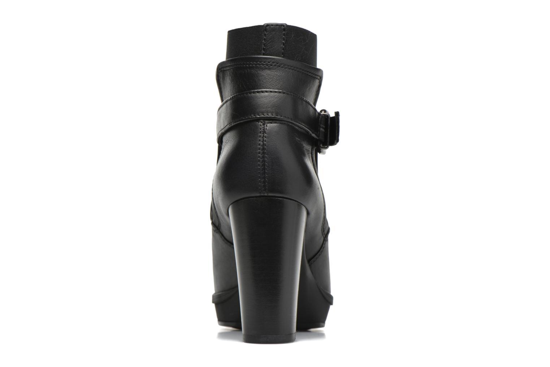 Bottines et boots Unisa Machu Noir vue droite