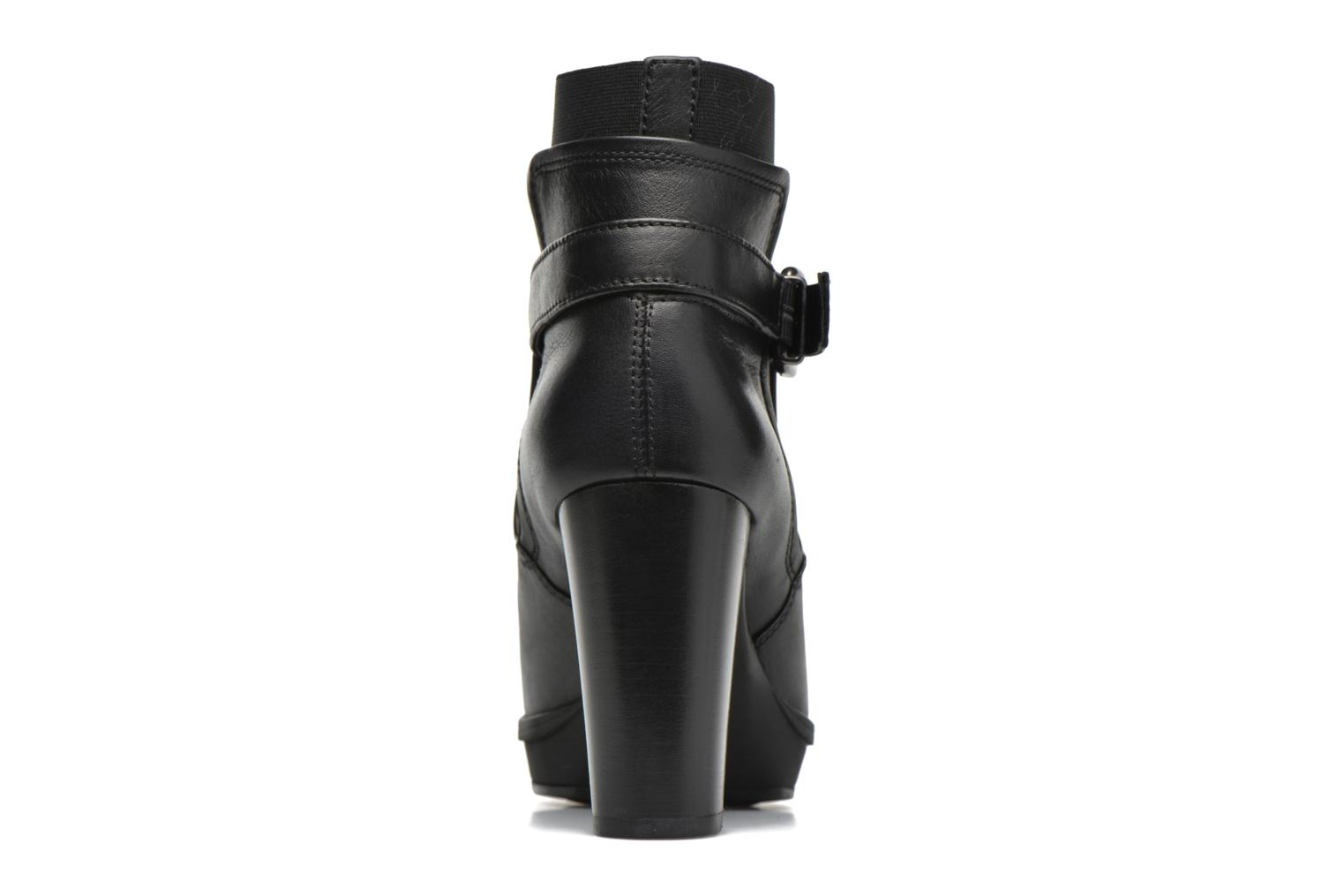 Ankle boots Unisa Machu Black view from the right