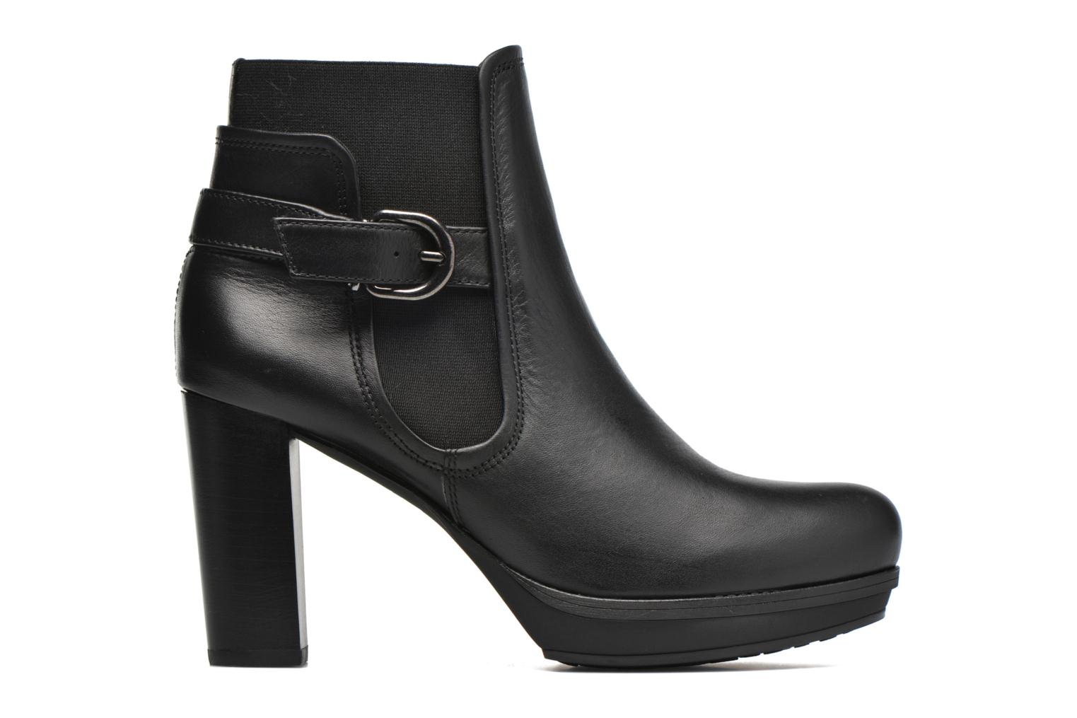 Ankle boots Unisa Machu Black back view