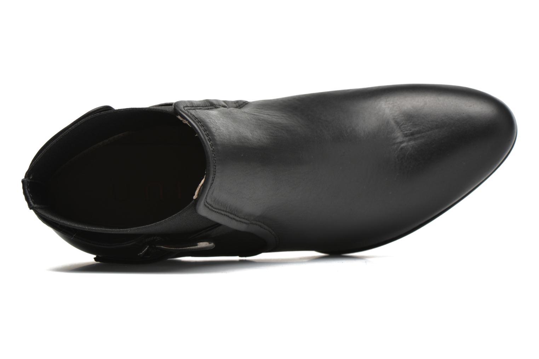 Bottines et boots Unisa Machu Noir vue gauche