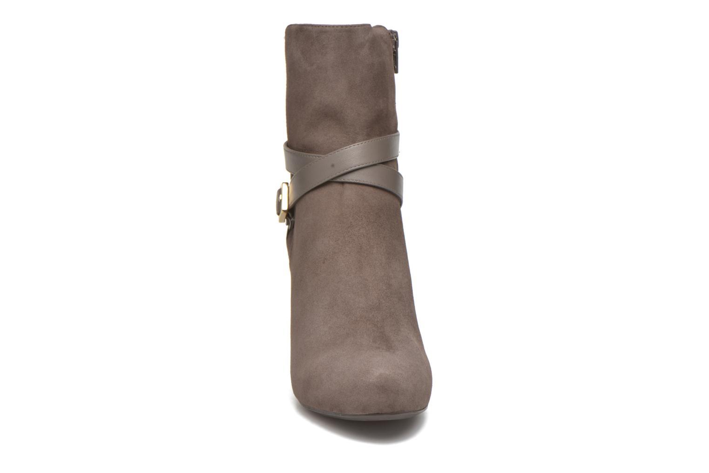 Stiefeletten & Boots Unisa Neil grau schuhe getragen