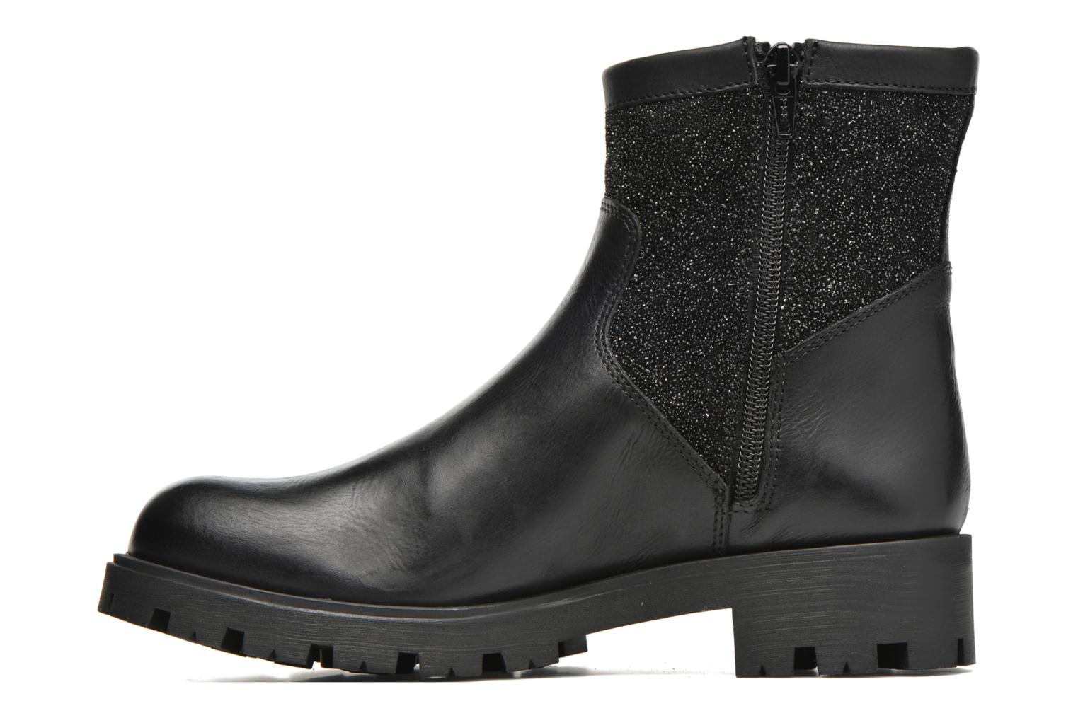 Bottines et boots Unisa Intro Noir vue face