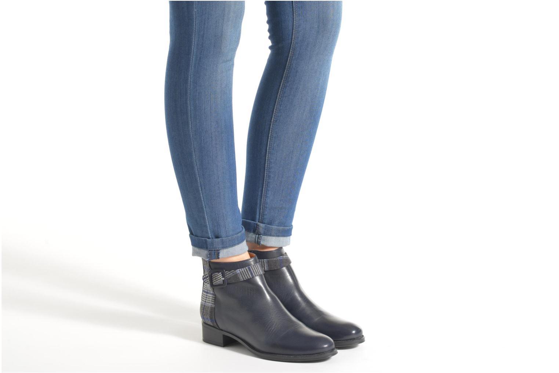 Stiefeletten & Boots Made by SARENZA West Mister #11 blau ansicht von unten / tasche getragen