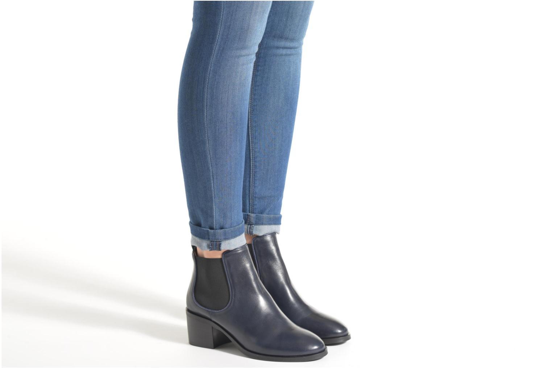 Bottines et boots Made by SARENZA See Ya Topanga #2 Bleu vue bas / vue portée sac