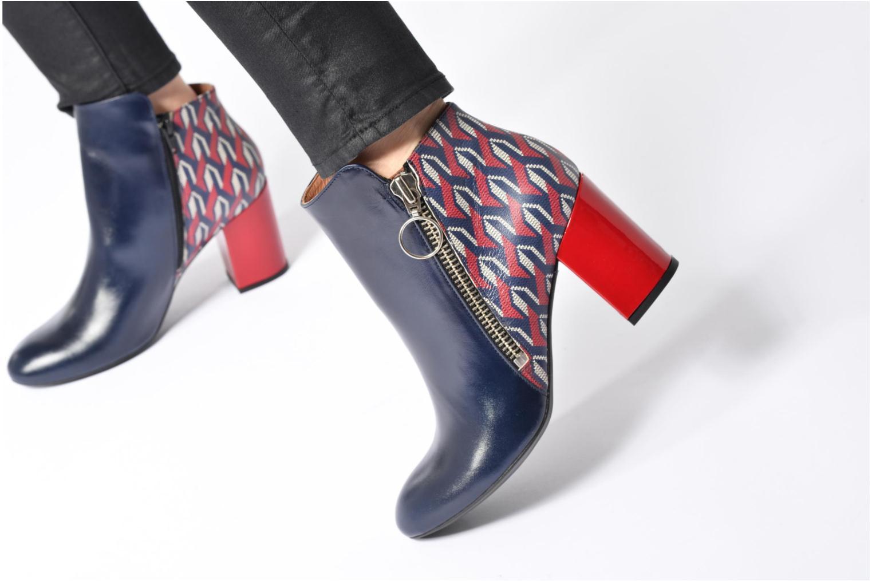 Bottines et boots Made by SARENZA Winter Ski #1 Or et bronze vue bas / vue portée sac