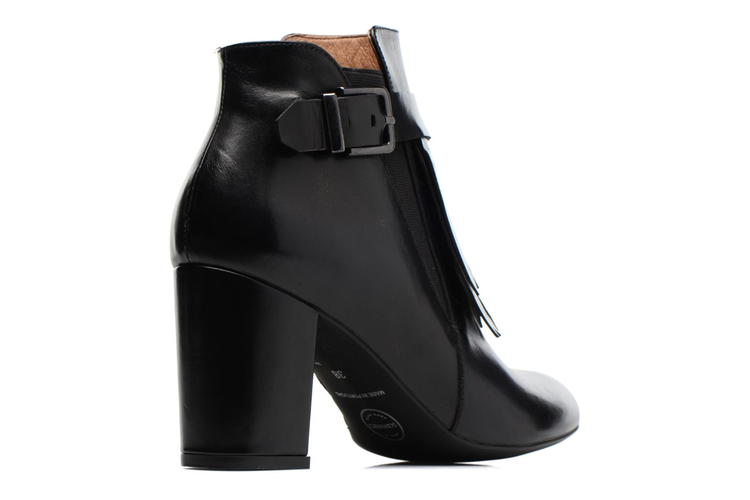 Ankle boots Made by SARENZA Queens Cross #3 Black front view