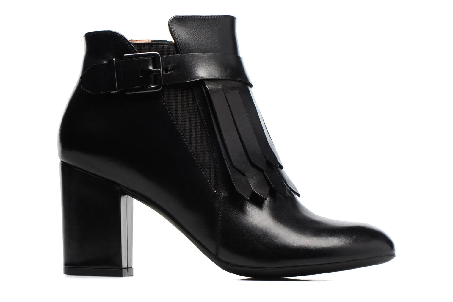 Ankle boots Made by SARENZA Queens Cross #3 Black detailed view/ Pair view