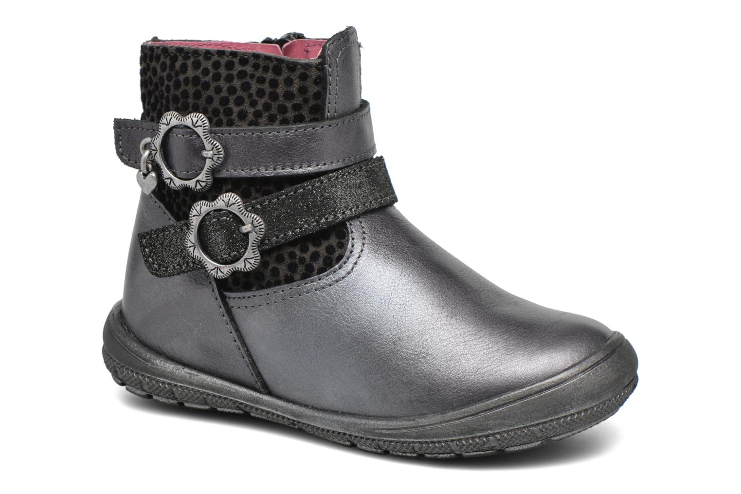 Ankle boots Bopy Bolivie Grey detailed view/ Pair view