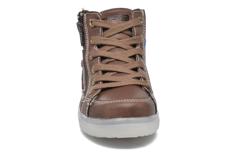 Baskets Bopy Netallo Marron vue portées chaussures