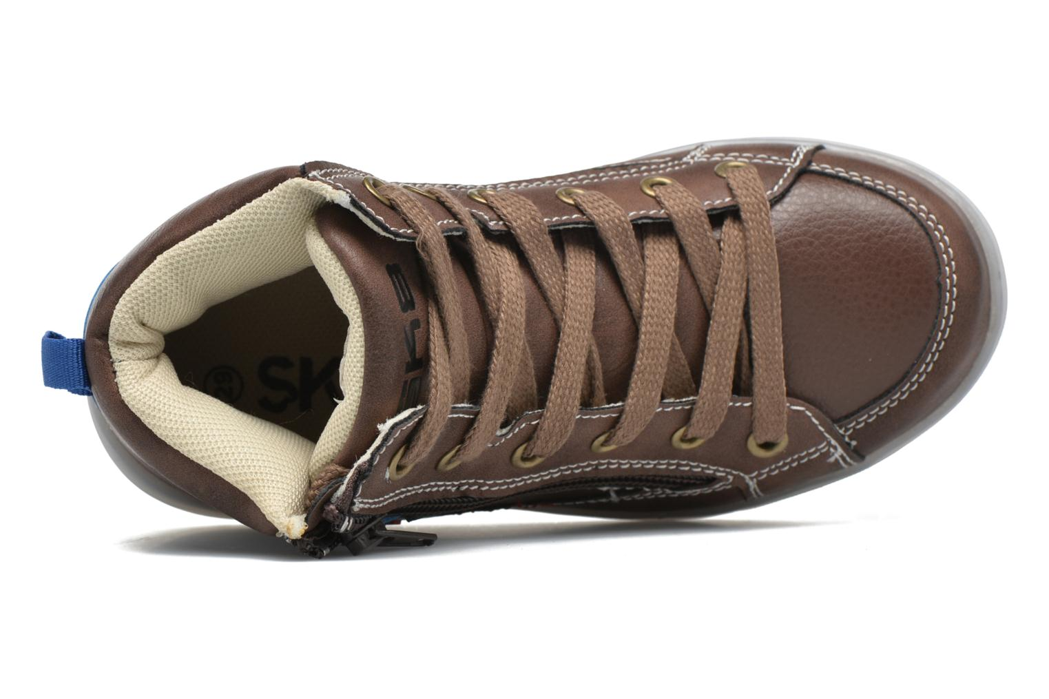 Trainers Bopy Netallo Brown view from the left