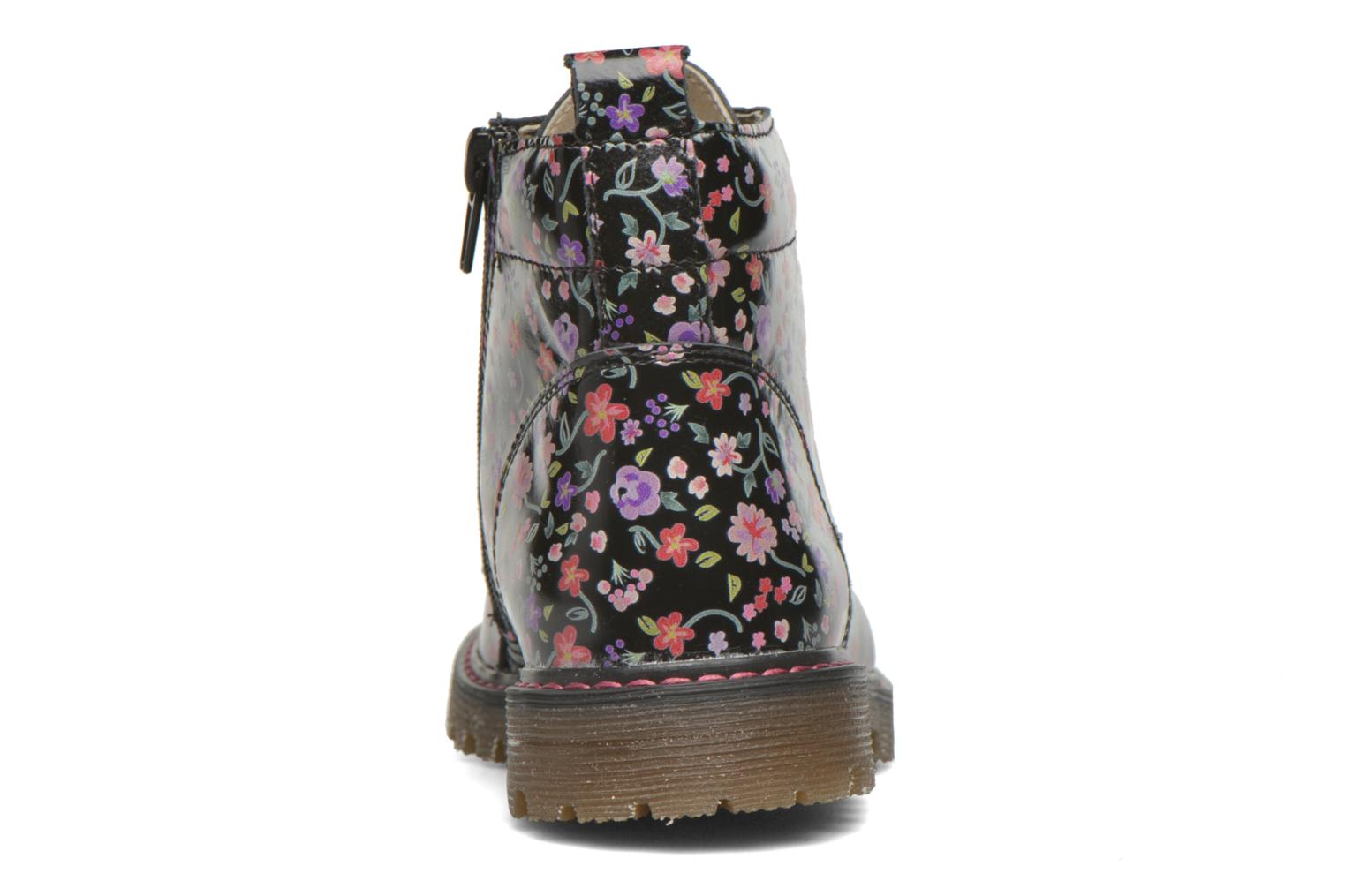 Ankle boots Bopy Saviere Multicolor view from the right