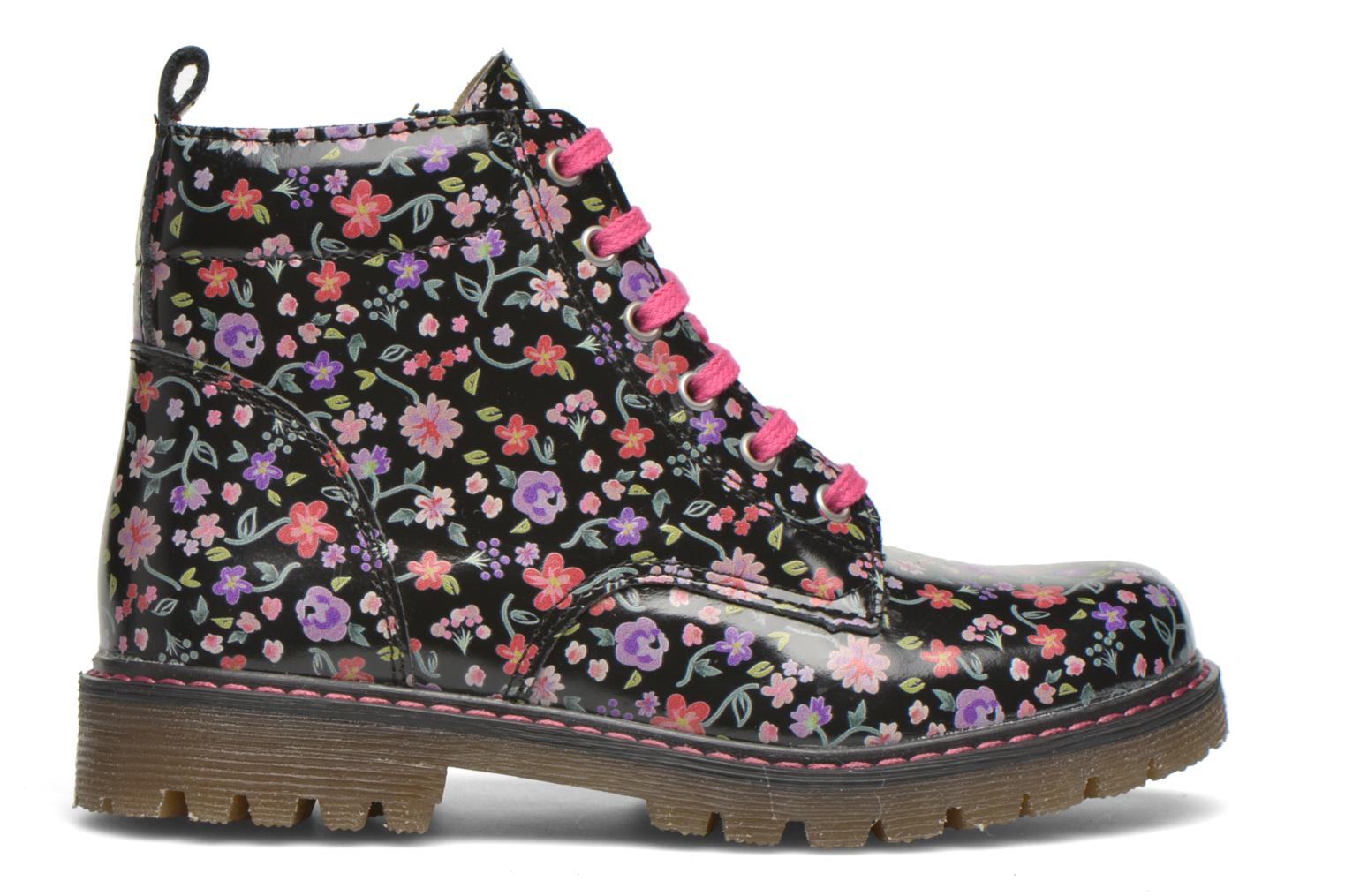 Ankle boots Bopy Saviere Multicolor back view