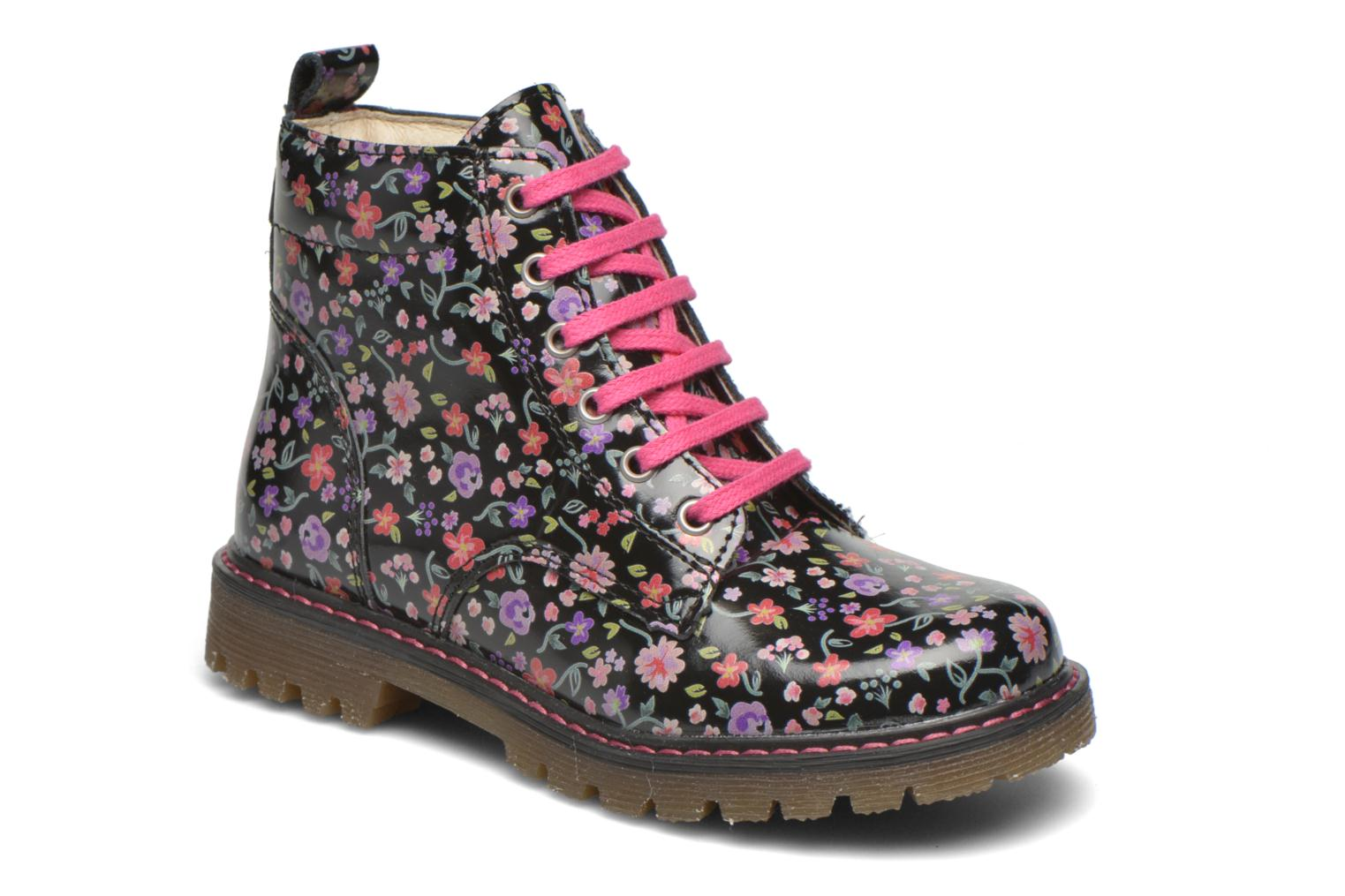 Ankle boots Bopy Saviere Multicolor detailed view/ Pair view