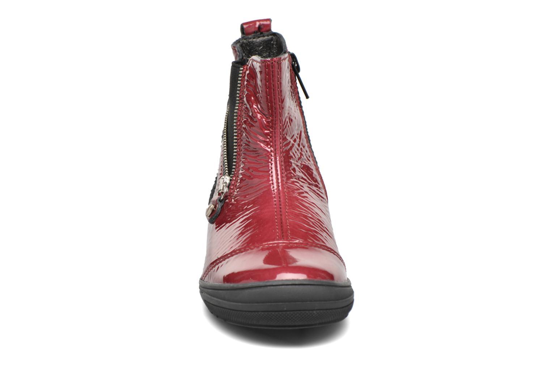 Stiefeletten & Boots Bopy Sazap weinrot schuhe getragen
