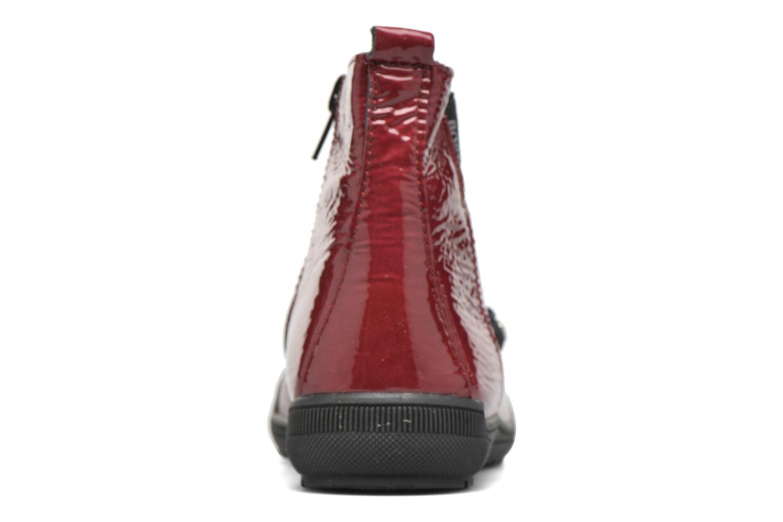 Bottines et boots Bopy Sazap Bordeaux vue droite