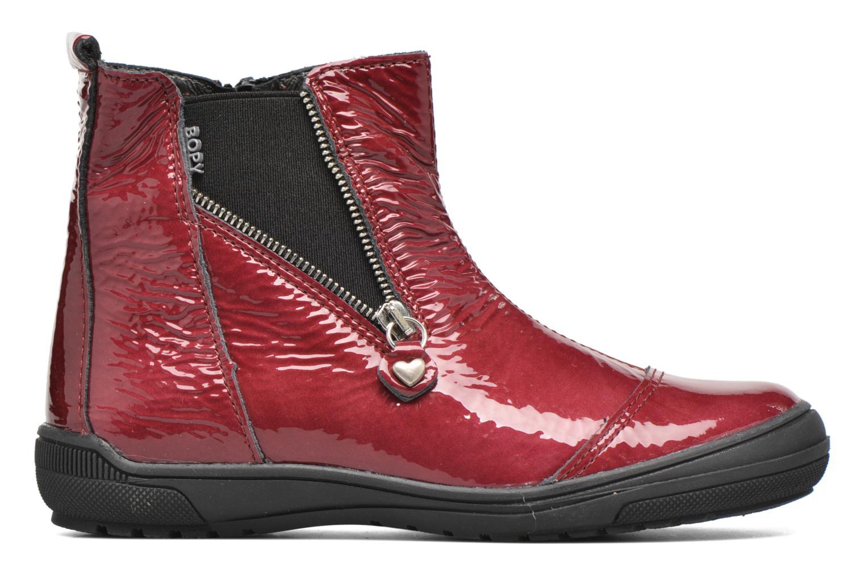 Stiefeletten & Boots Bopy Sazap weinrot ansicht von hinten
