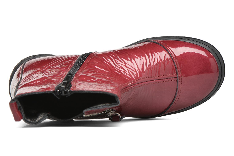 Bottines et boots Bopy Sazap Bordeaux vue gauche