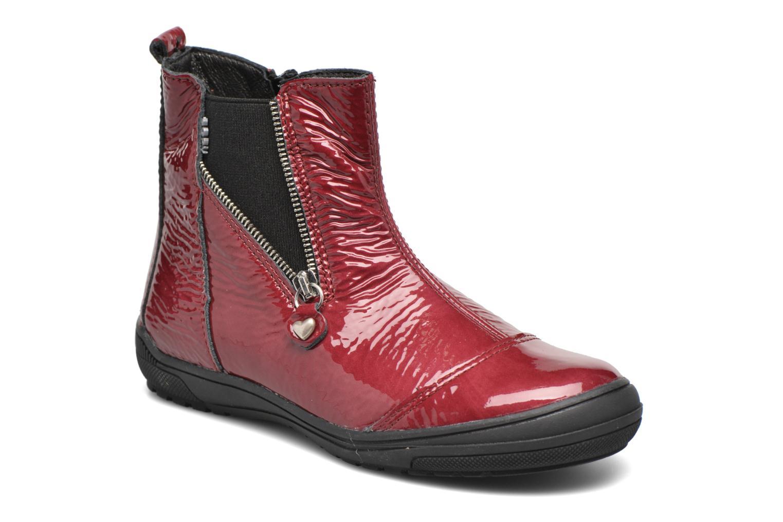 Bottines et boots Bopy Sazap Bordeaux vue détail/paire