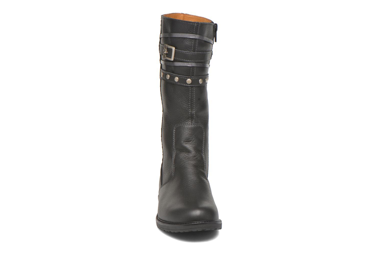 Stiefel Bopy Slogan schwarz schuhe getragen