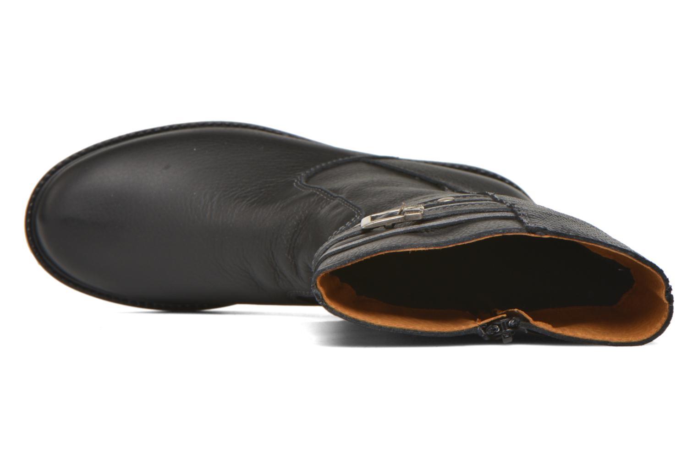 Stiefel Bopy Slogan schwarz ansicht von links