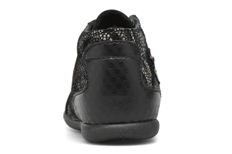 Chaussures à lacets Bopy Zepali Noir vue droite