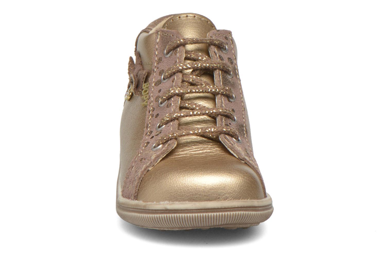 Chaussures à lacets Bopy Zinote Or et bronze vue portées chaussures