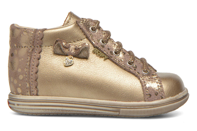 Chaussures à lacets Bopy Zinote Or et bronze vue derrière