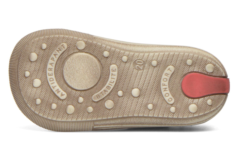 Chaussures à lacets Bopy Zinote Or et bronze vue haut