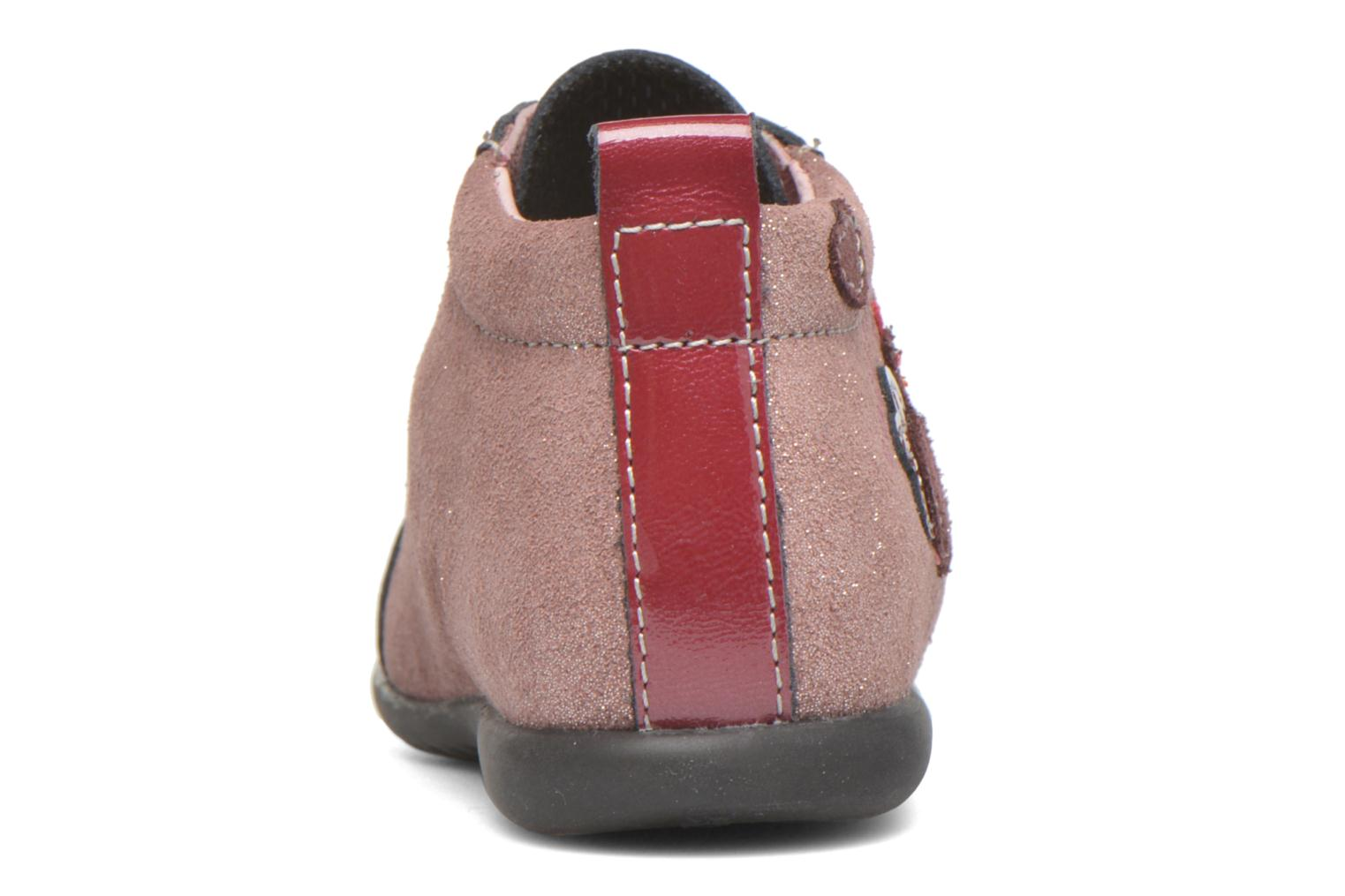 Ankle boots Bopy Zocotte Pink view from the right