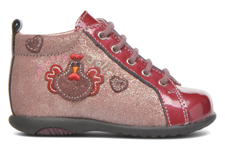 Boots en enkellaarsjes Bopy Zocotte Roze achterkant