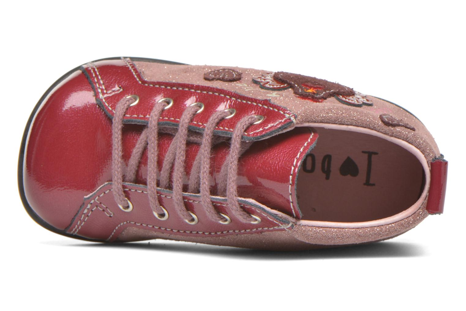 Ankle boots Bopy Zocotte Pink view from the left