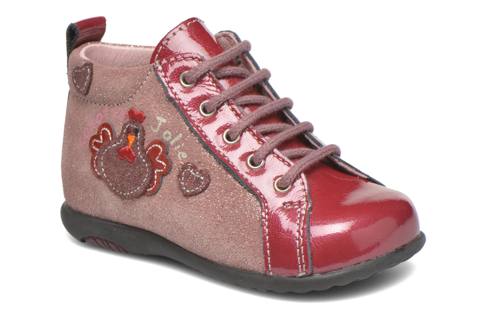 Ankle boots Bopy Zocotte Pink detailed view/ Pair view
