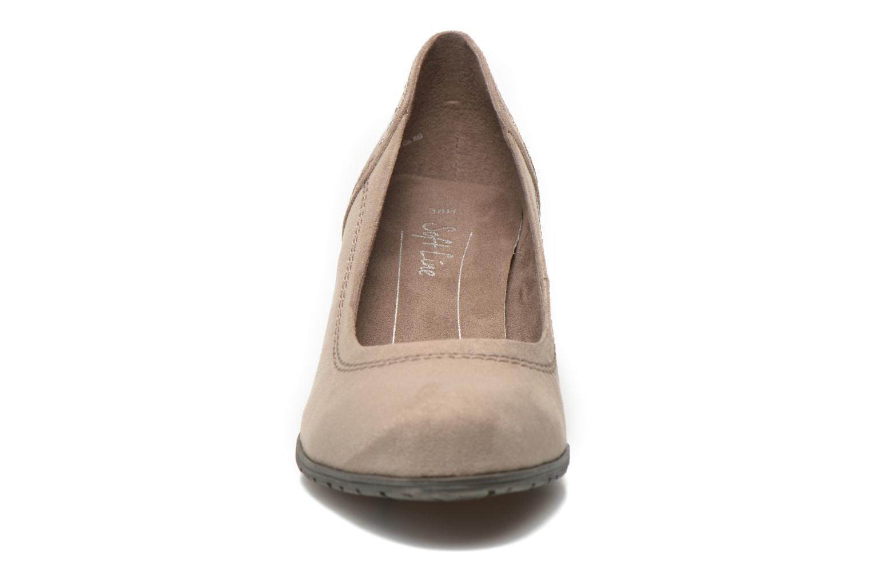 Pumps Jana shoes Jiveo 2 beige schuhe getragen