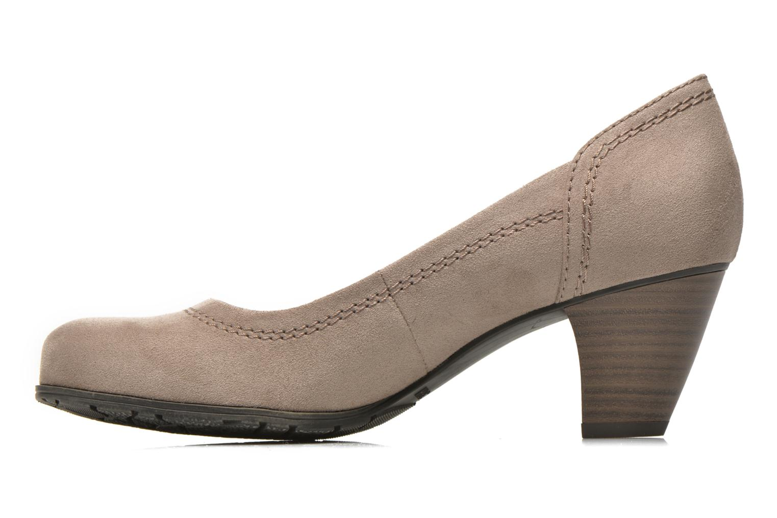 Escarpins Jana shoes Jiveo 2 Beige vue face