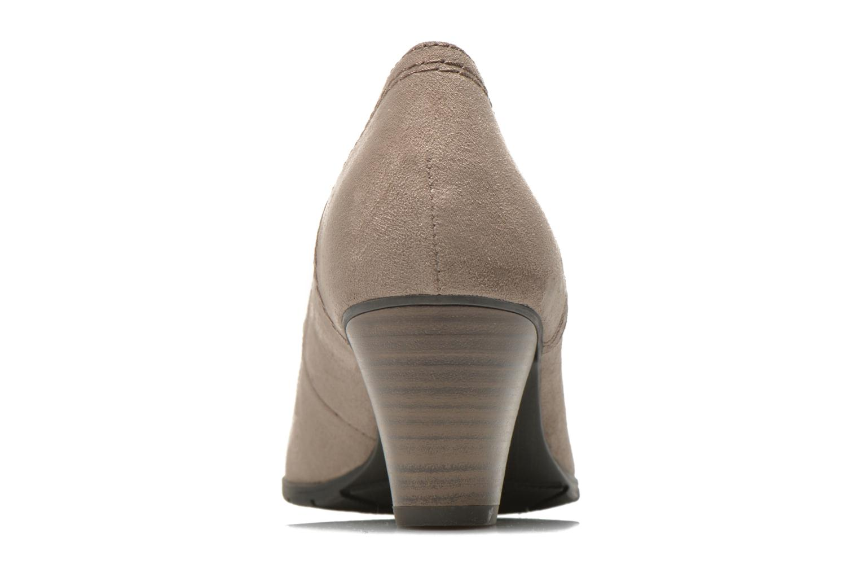 Pumps Jana shoes Jiveo 2 beige ansicht von rechts