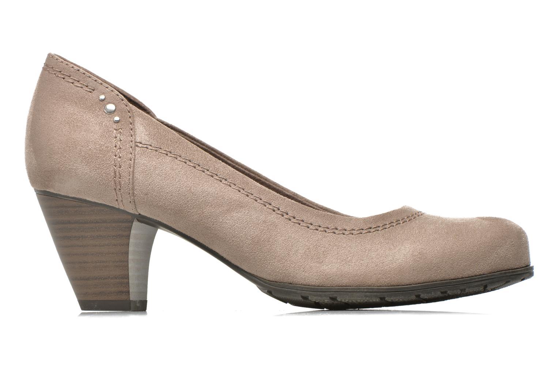 Pumps Jana shoes Jiveo 2 beige ansicht von hinten