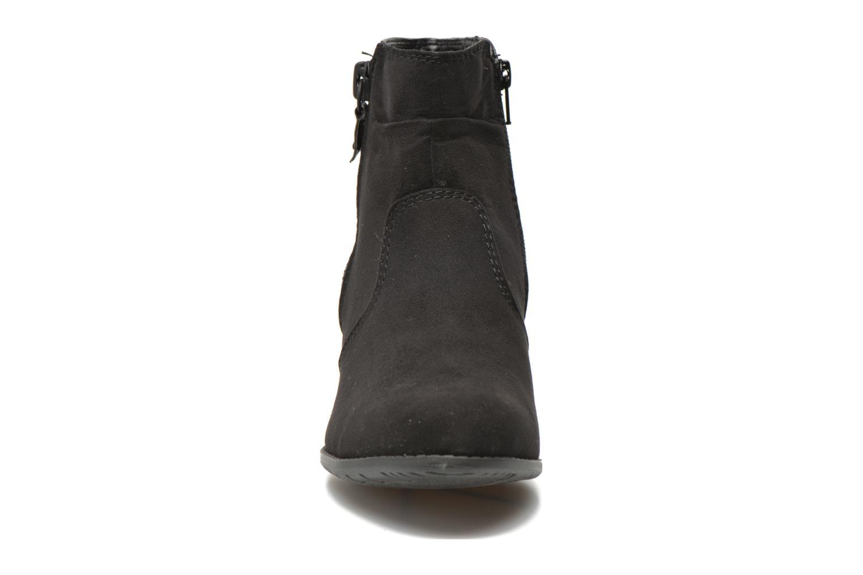 Bottines et boots Jana shoes Scille Noir vue portées chaussures