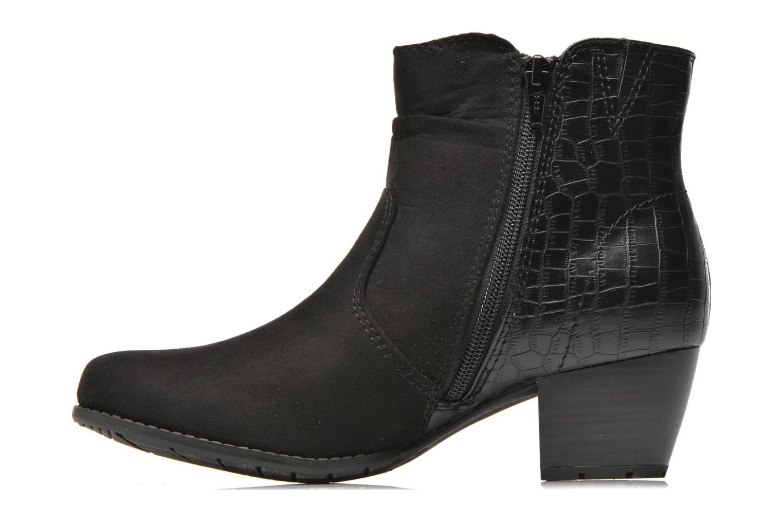 Bottines et boots Jana shoes Scille Noir vue face